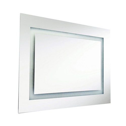 Silver 24-Inch LED Vanity Mirror