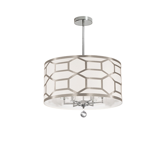 Pembroke Winter Gold 22-Inch Six-Light Pendant