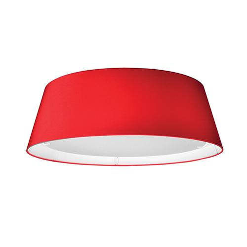 Red 17-Inch LED Flush Mount