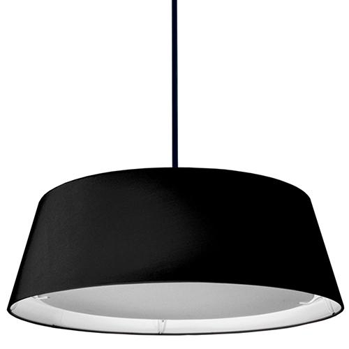 Dainolite LED Black 24-Inch LED Pendant