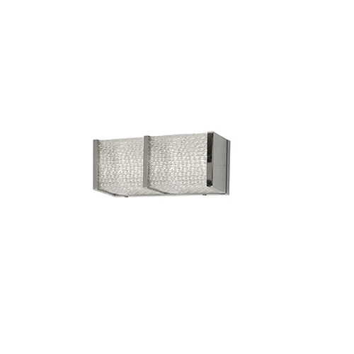 Clear 12-Inch LED Sconce