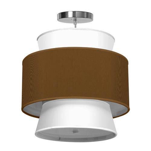 Arlo Silk Antique Copper 16-Inch One-Light Pendant