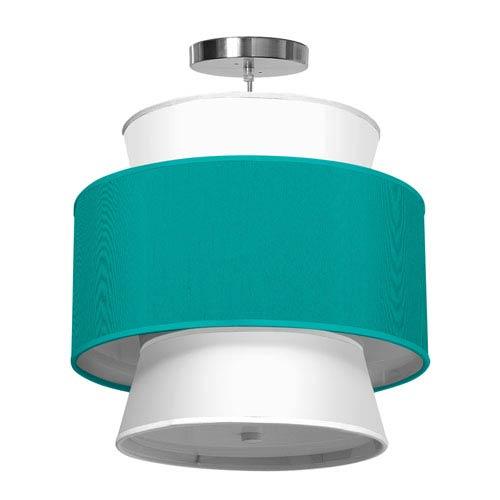 Arlo Silk Turquoise 16-Inch One-Light Pendant