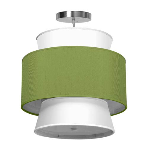 Arlo Silk Verde 16-Inch One-Light Pendant