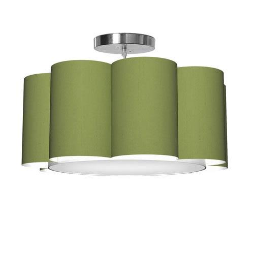 Bloom 8 Silk Verde 21.5-Inch One-Light Pendant