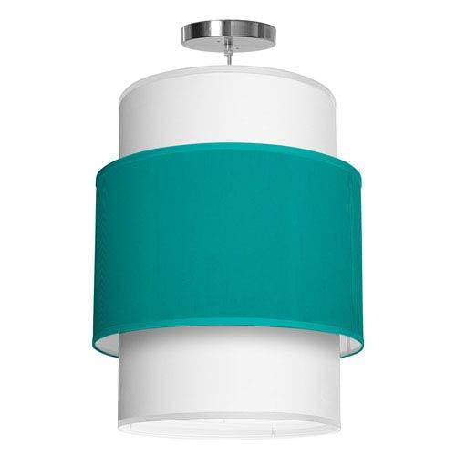 Evan Silk Turquoise 16-Inch One-Light Pendant