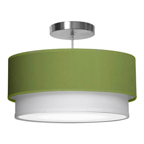 Luther Silk Verde 16-Inch One-Light Pendant