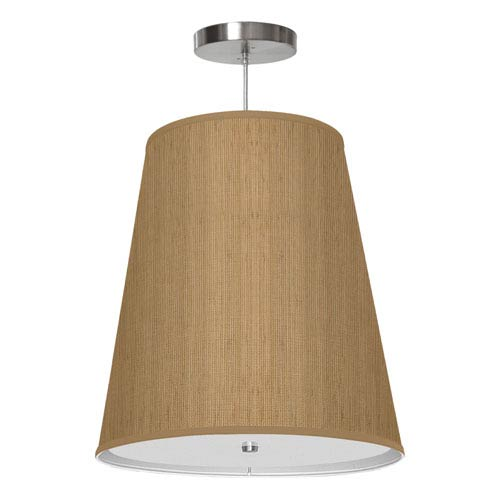 Zak Woven Bamboo 13-Inch One-Light Pendant