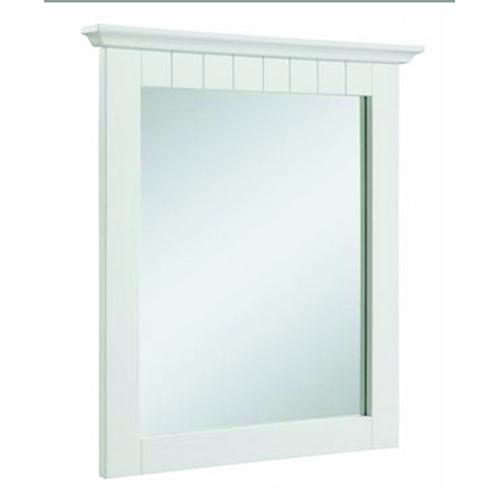 Cottage Mirror 24x30, White
