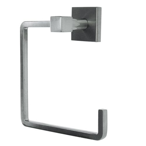 Design House Karsen Towel Ring, Satin Nickel