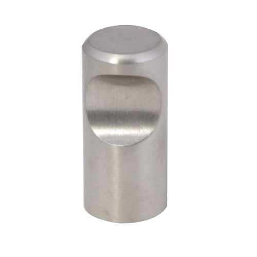 Barrel Knob in Stainless Steel