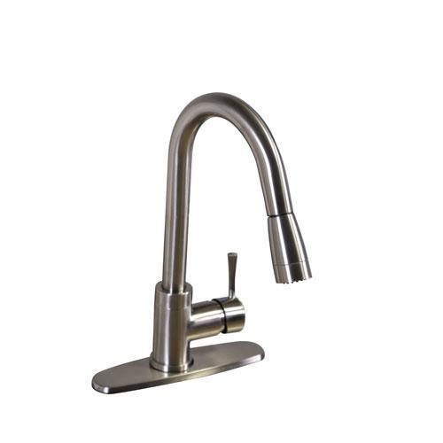 Kenton Satin Nickel Pull Down \Kitchen Faucet