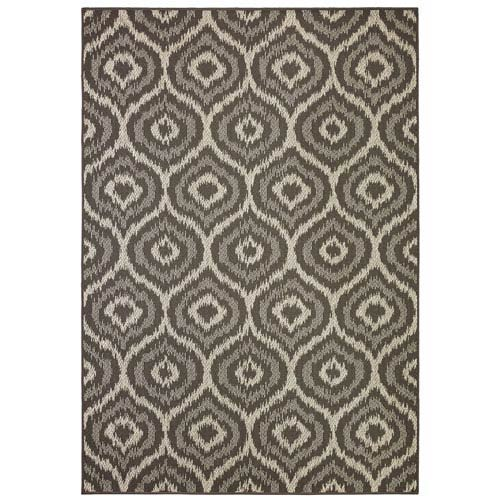 Oasis Morro Onyx Rectangular: 5 Ft. 3 In. x 7 Ft. 6 In. Rug