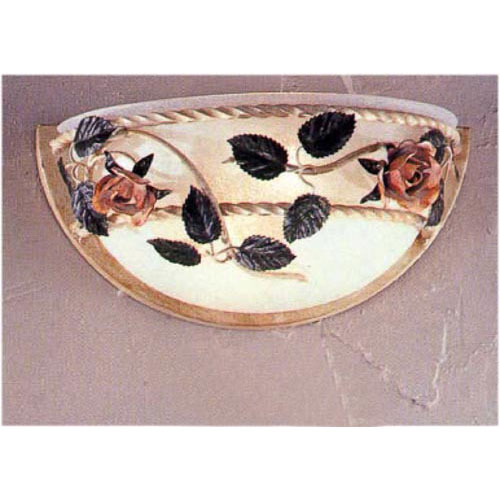 Secret Garden Ivory Wall Sconce