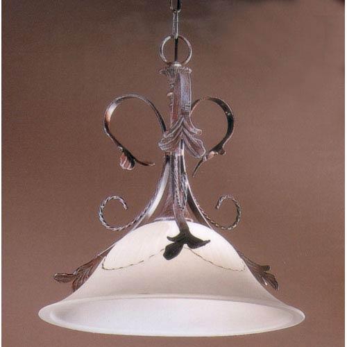 Classic Lighting Treviso Weathered Clay Pendant
