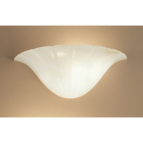 Classic Lighting Navarra White One-Light Wall Sconce