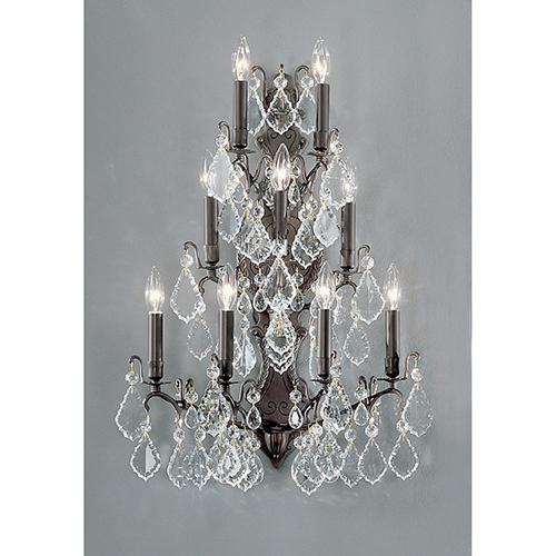 Classic Lighting Versailles Antique Bronze Nine-Light Wall Sconce