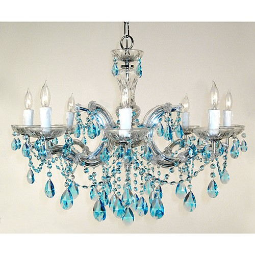 the best attitude 28ab8 c0a9c Classic Lighting Rialto Traditional Chrome Eight-Light Chandelier