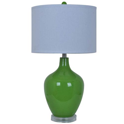 Crestview Collection Avery Orange Table Lamp