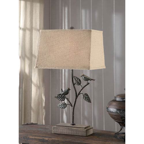 Crestview Collection Park Side Table Lamp