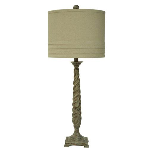 Crestview Collection Twist Table Lamp