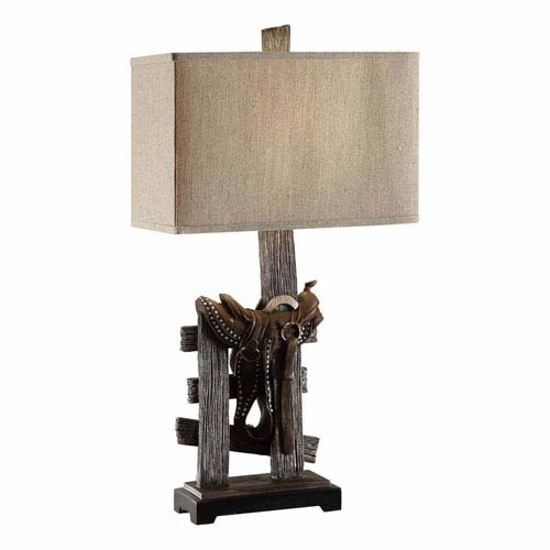 Crestview Collection Saddle Table Lamp