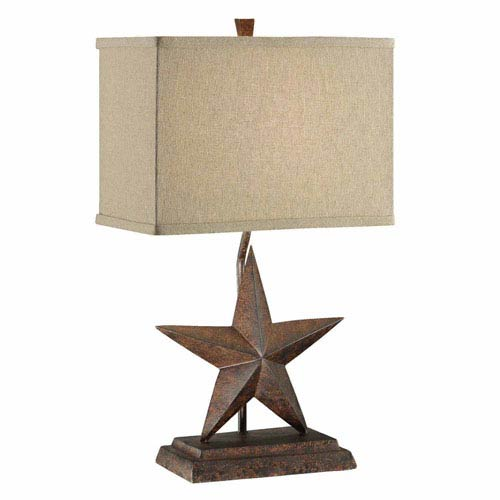 Crestview Collection Star Table Lamp