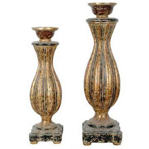 Crestview Collection Avignon Candleholders, Set of Three