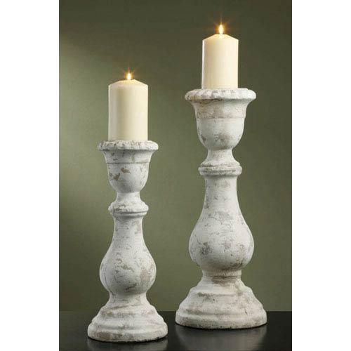 Newport Candleholders, Set of Two
