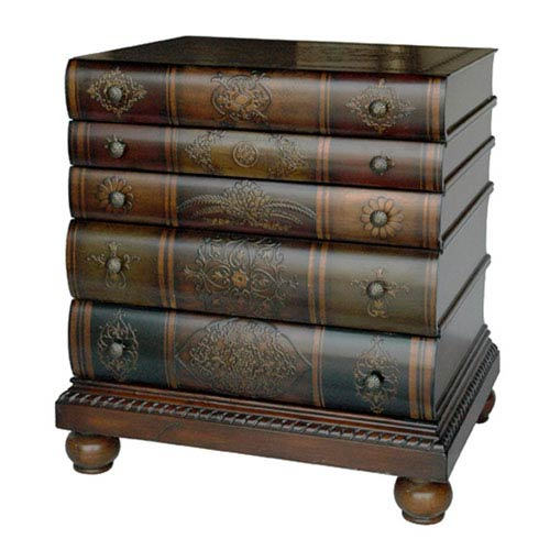 Library Three-Drawer Chest