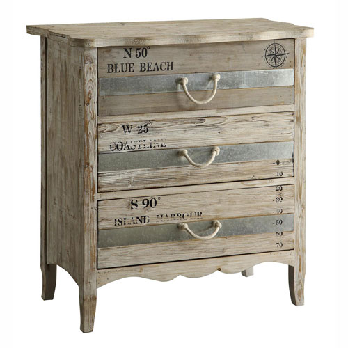 Crestview Collection Grand Isle Three-Drawer Chest