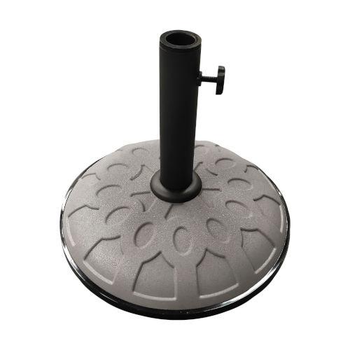 Gray Resin Compound Umbrella Base