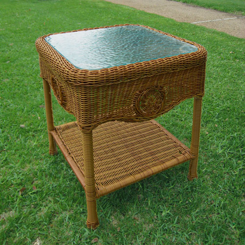 Maui Mocha Side Table