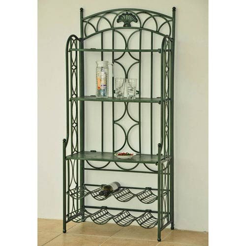 Iron 5-Tier Bakers/Wine Rack