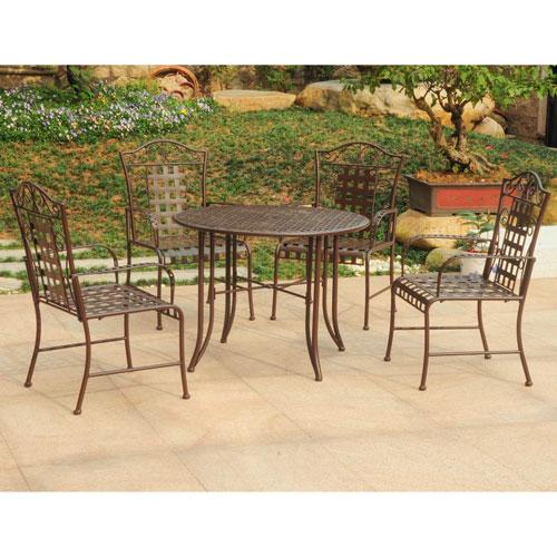 Mandalay Set of 5 Outdoor Dining Group