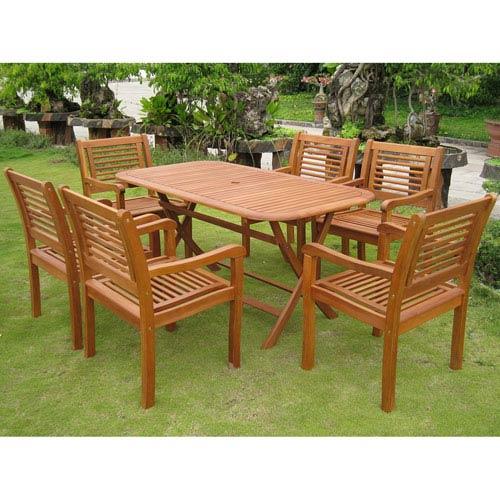 Royal Tahiti Girona 7-Piece Dining Group