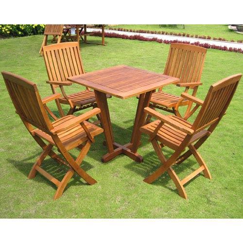 Royal Tahiti Gibraltar 5-Piece Dining Group