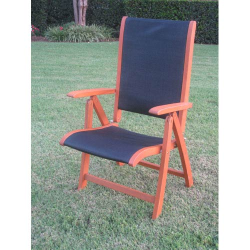 Superb Royal Tahiti Outdoor Wood 5 Position Folding Chair With Blue Mesh Fabric Set Of Two Evergreenethics Interior Chair Design Evergreenethicsorg