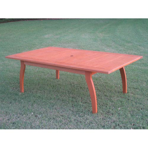 International Caravan Royal Tahiti Outdoor Rectangular Coffee Table