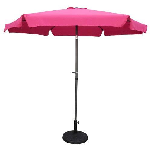 Outdoor 9 Foot Aluminum Umbrella With Flaps