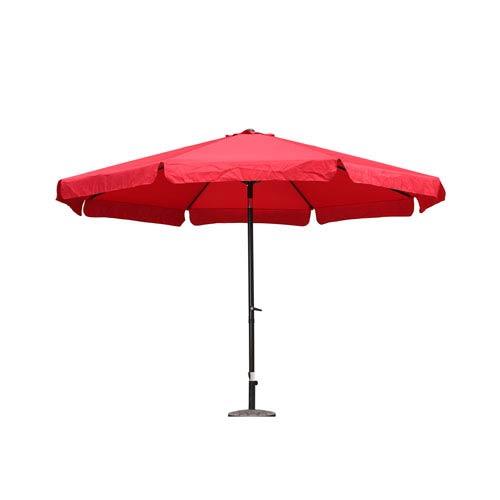 Outdoor 12 Foot Aluminum Umbrella With Flaps