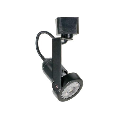 H-Type Black Gu10 Mini Gimbal Line Voltage Track Head