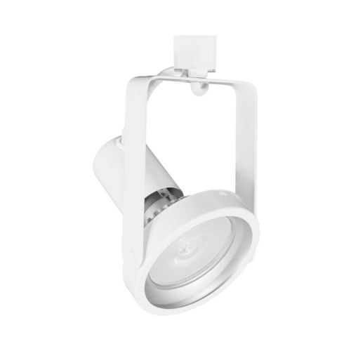H-Type White Par38 Gimbal Line Voltage Track Head