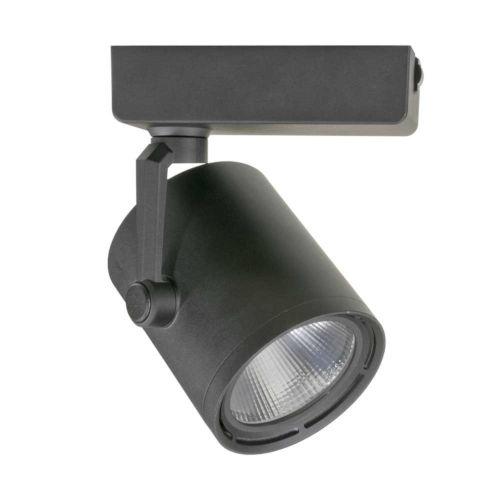 H-Type Black Cob LED 18 Degree Beam Angle 3000K LED Track Head