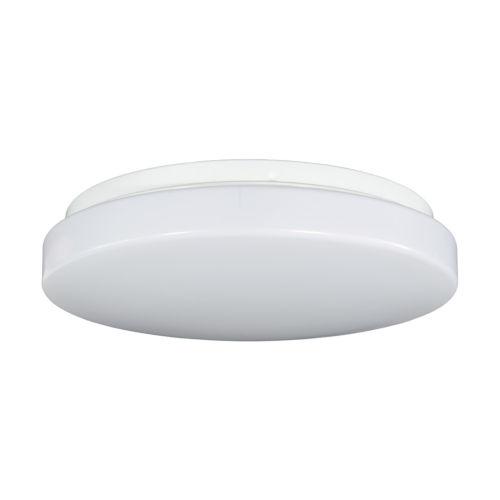 Relyence White 12-Inch 950 Lumen 3000K LED Flush Mount