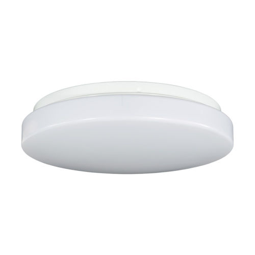 Relyence White 12-Inch 950 Lumen 3500K LED Flush Mount