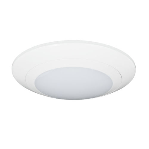 Relyence White 6-Inch 650 Lumen 3500K LED Flush Mount