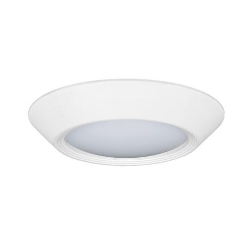 Relyence White 3-Inch 750 Lumen 3500K LED Flush Mount