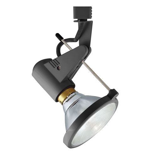 H Type Deco Series Satin Chrome 6.5-Inch One-Light Track Head