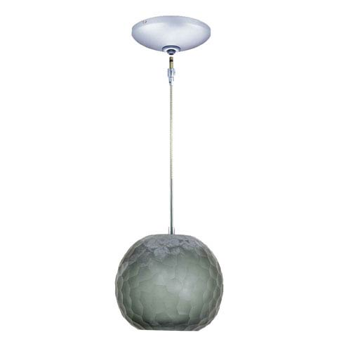 Envisage VI Chrome One-Light Low Voltage Mini Pendant with Smoke Shade